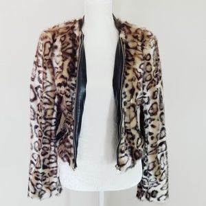 NWT - BEBE Faux Fur Coat